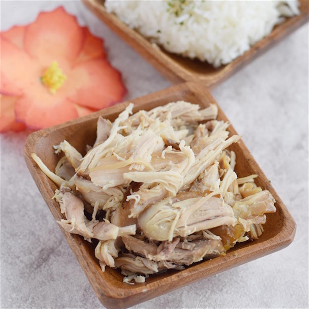 Kalua Chicken | Slow Cooker Kalua Chicken