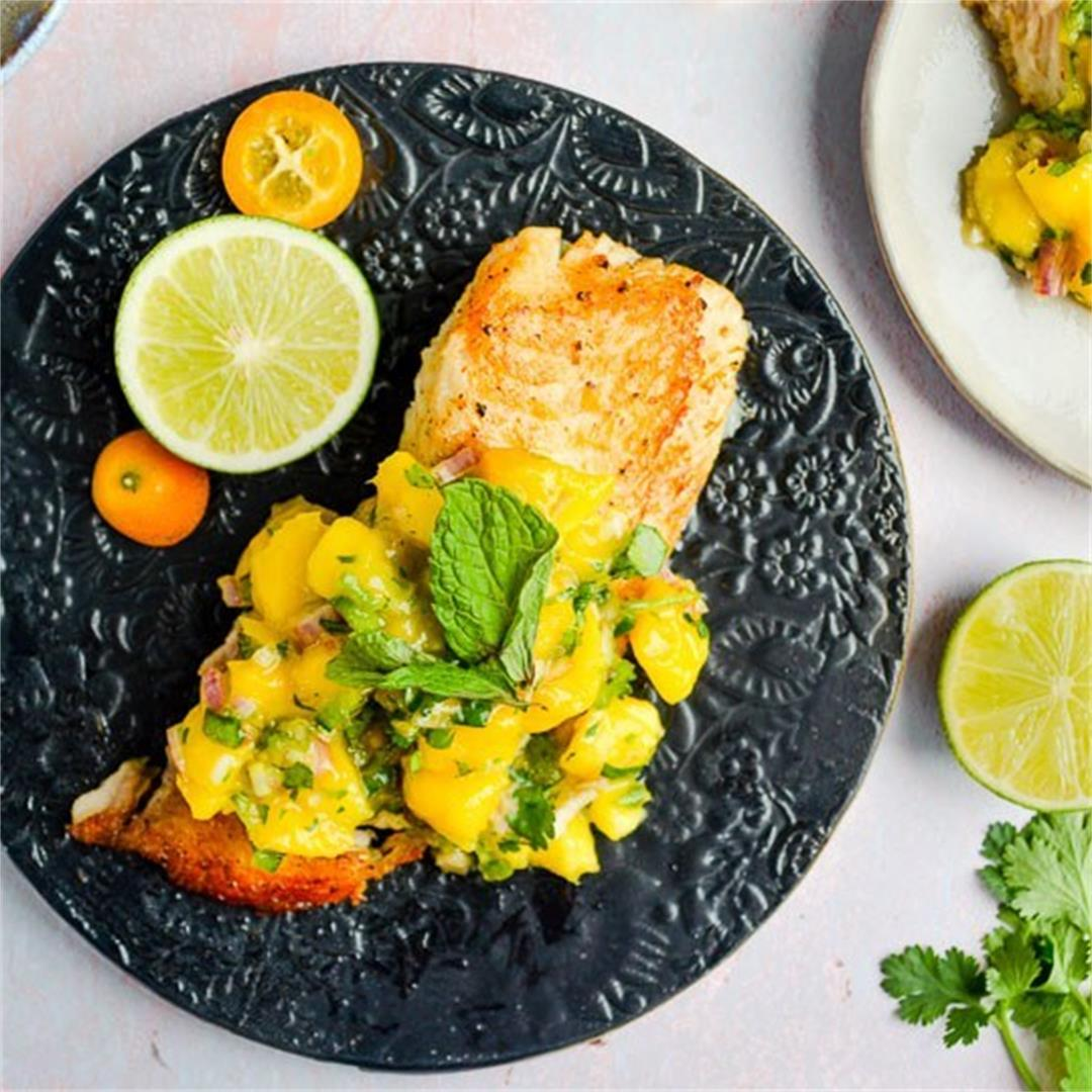 Tilapia with Mango Jalapeno Salsa — Wanderings in My Kitchen