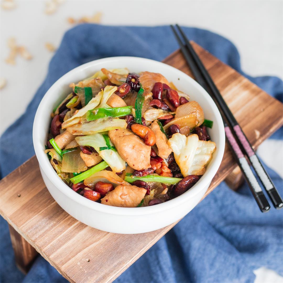 Thai Cashew Chicken | Gai Pad Med Mamuang