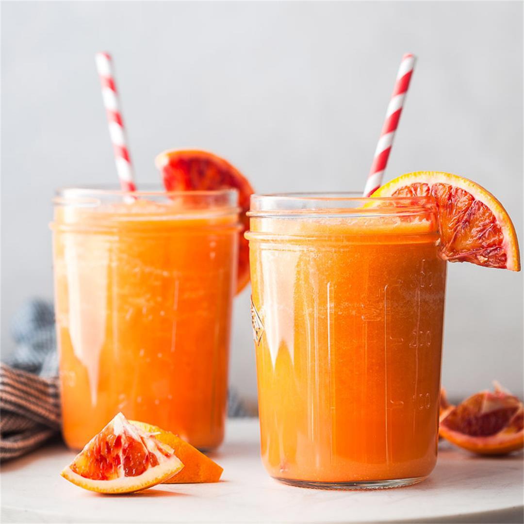 Apple Carrot Orange Smoothie {Vegan}