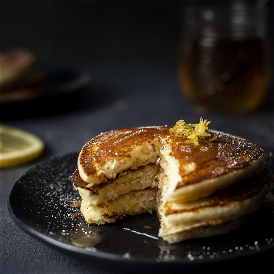 Easy Lemon Ricotta Pancakes