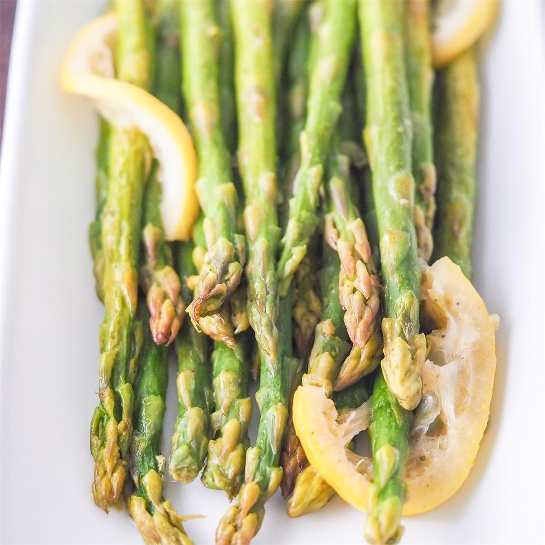 Instant Pot Asparagus with Lemon