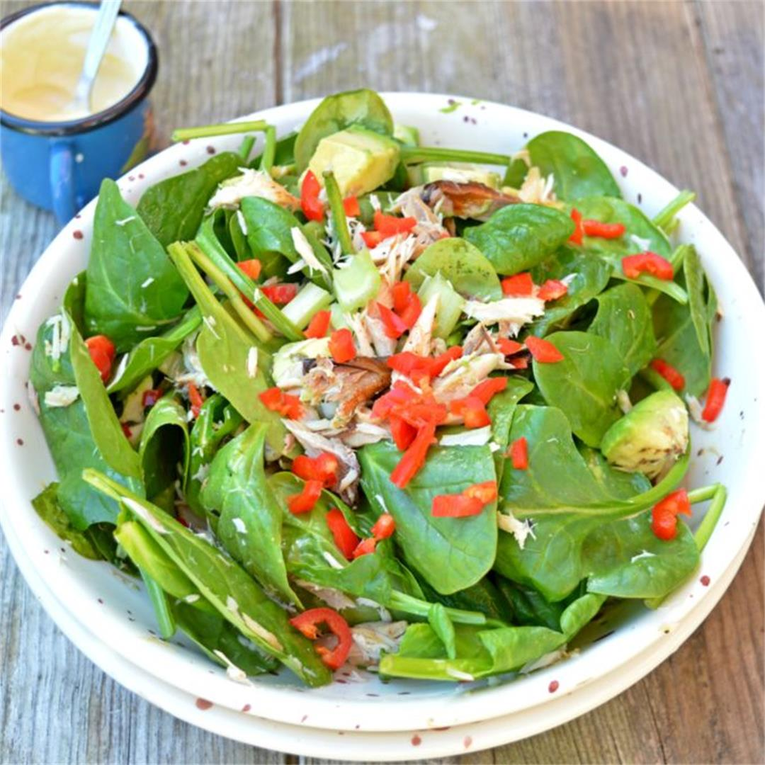 Spicy Mackerel Salad — Tasty Food for Busy Mums