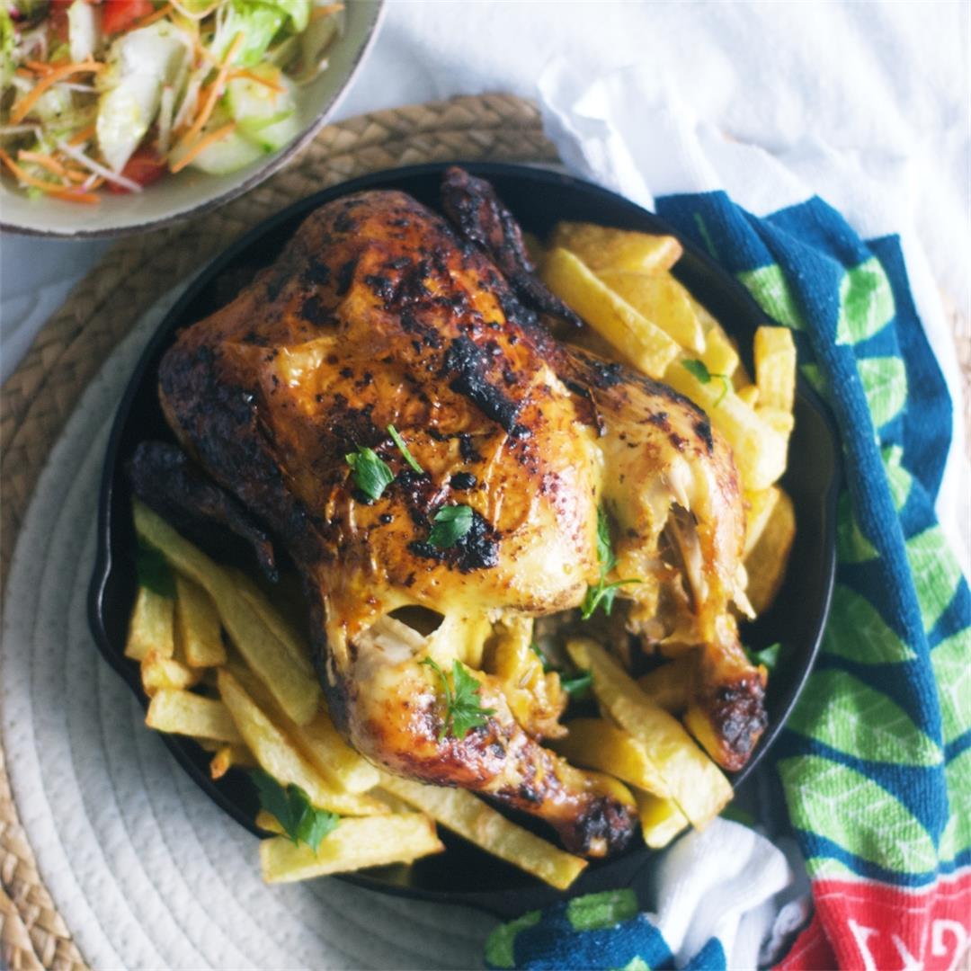Peruvian Rotisserie Chicken (Pollo a la Brasa)