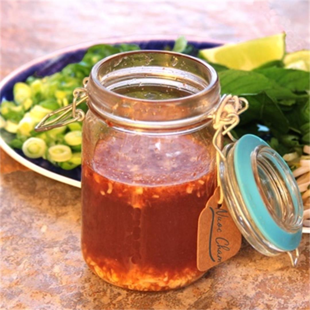 Quick Nuoc Cham Sauce