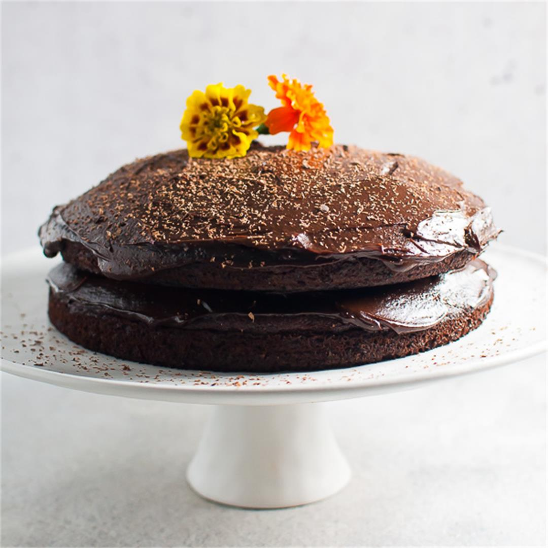 The Ultimate Chocolate Avocado Cake with Thick Luscious Frostin