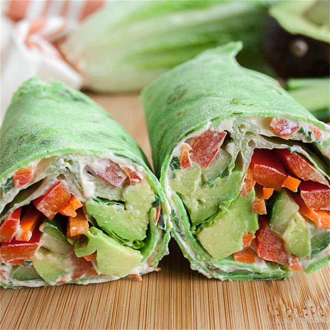 Vegan Veggie Wrap -