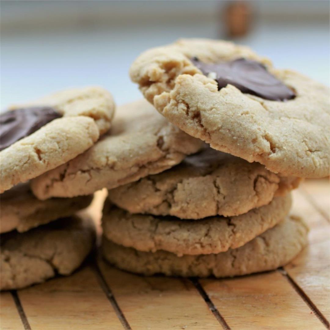 GF Vegan Peanut Cookies