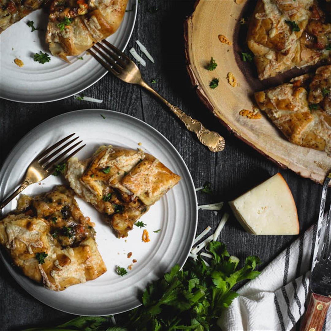 Chicken Potpie Crostata