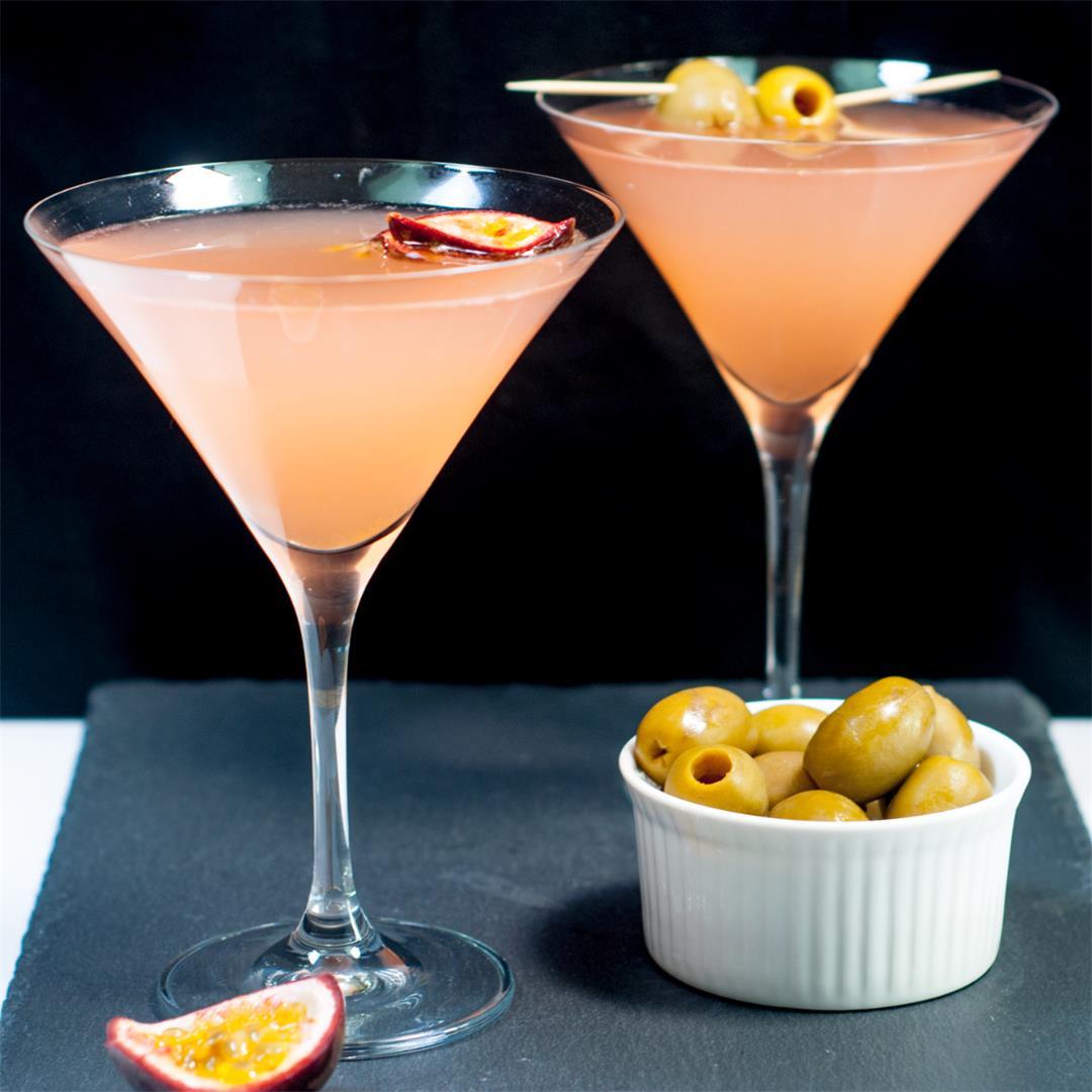 Passion Fruit Pornstar Martini