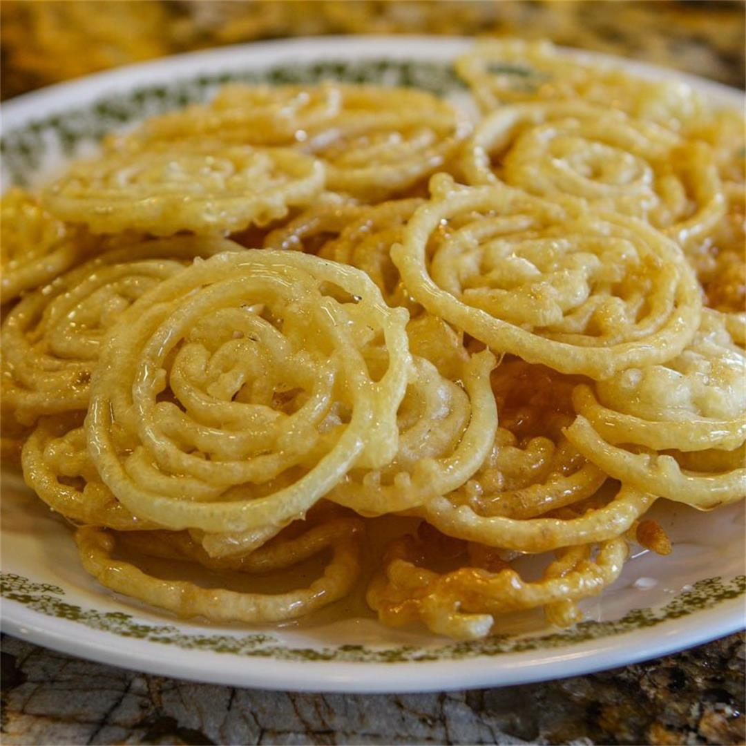 Zalabia (Middle Eastern Mini Funnel Cakes)