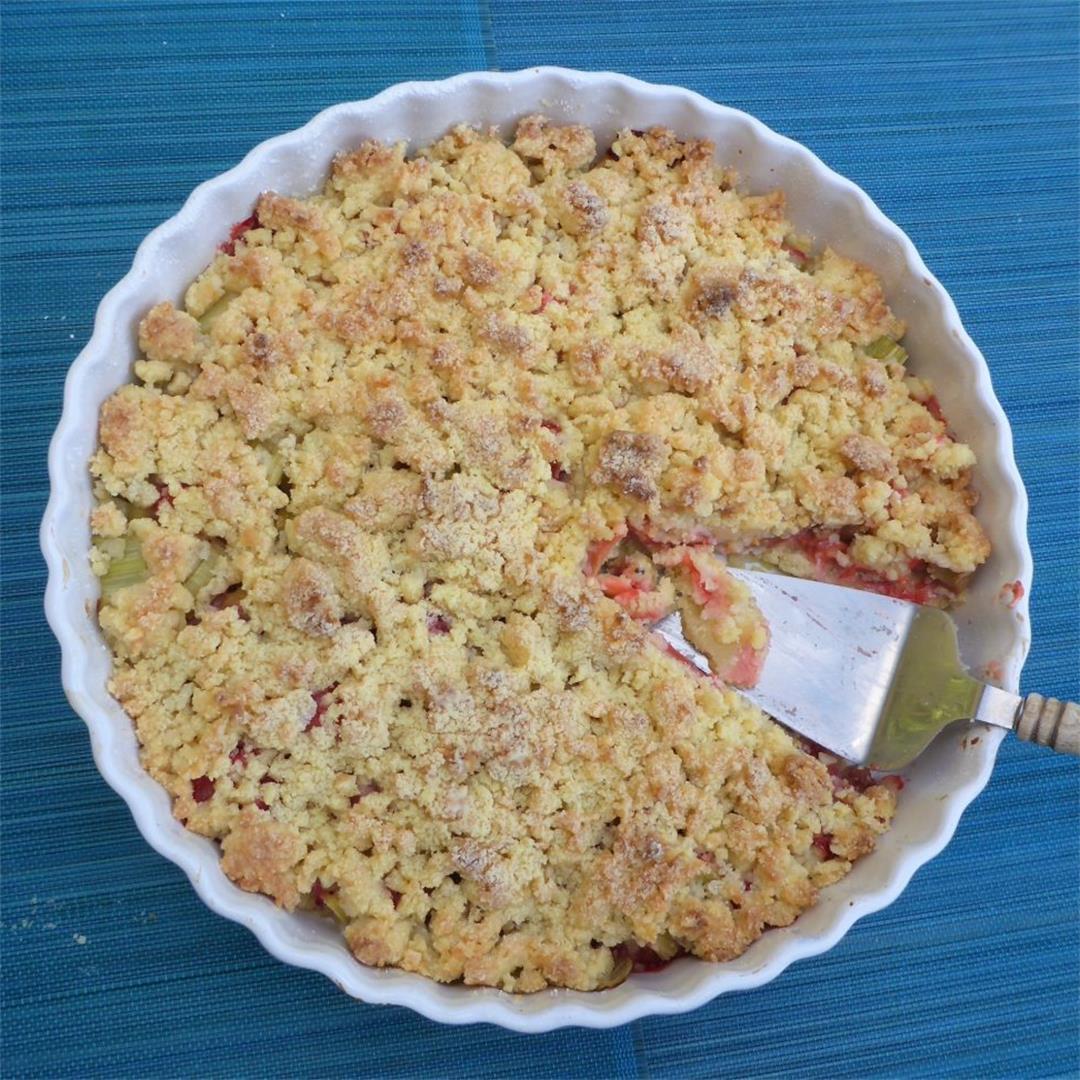 Best strawberry rhubarb crumble recipe