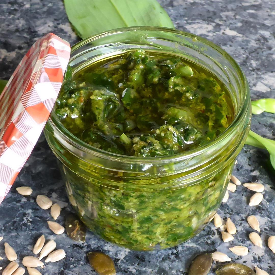 Best wild garlic pesto recipe