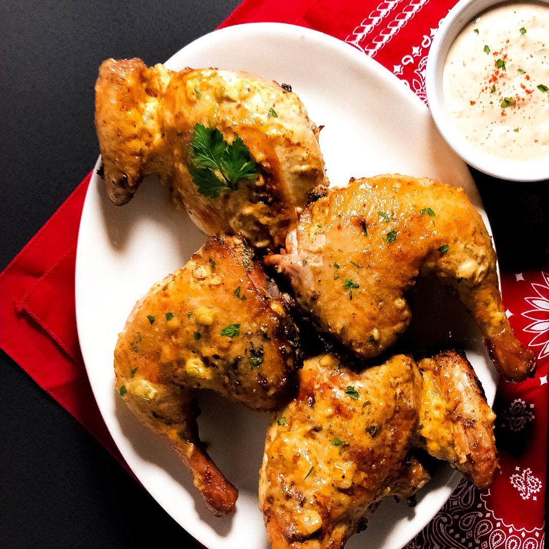 Cajun Grilled Chicken Remoulade