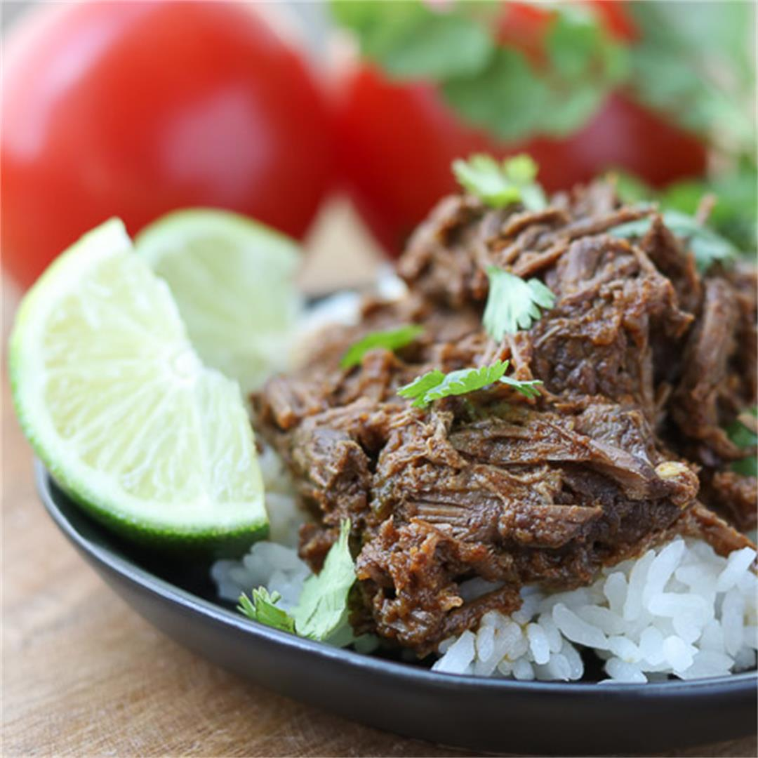 Easy Instant Pot Mexican Shredded Beef for Tacos, and more!