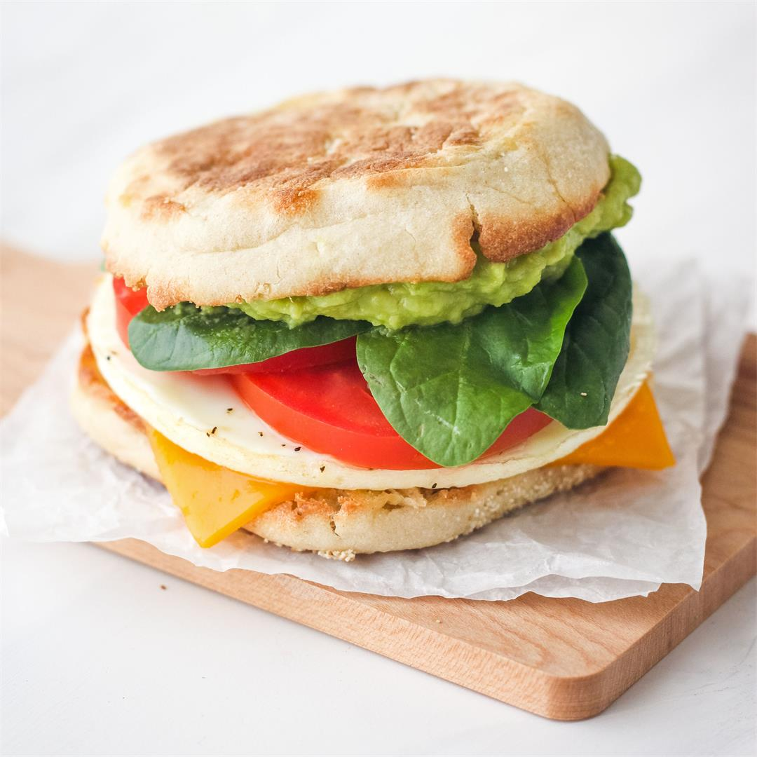 Toaster Oven Breakfast Sandwich