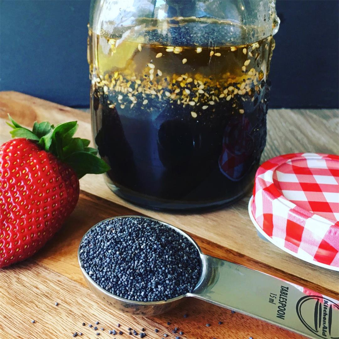 Poppy Seed Salad Dressing and Vinaigrette