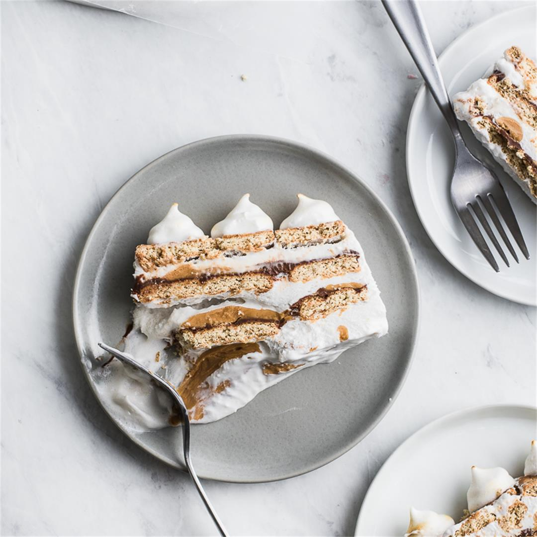 Icebox Cake S'more Peanut Butter