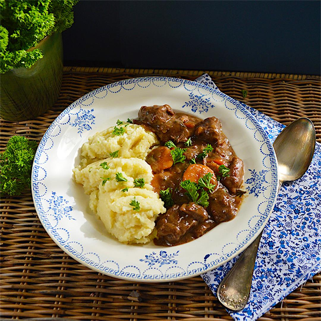 Beef Stew & Celeriac Pure