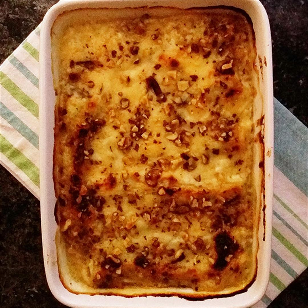 Pecan Cannelloni