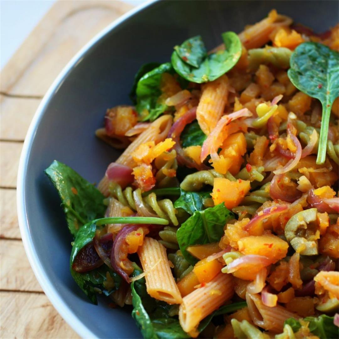 Caramelised Squash Pasta Recipe