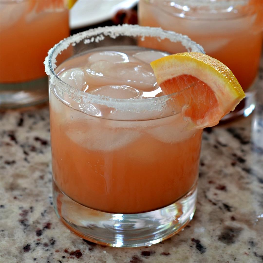 Salty Dog Cocktail (A Flavorful 3 Ingredient Adutl Beverage)