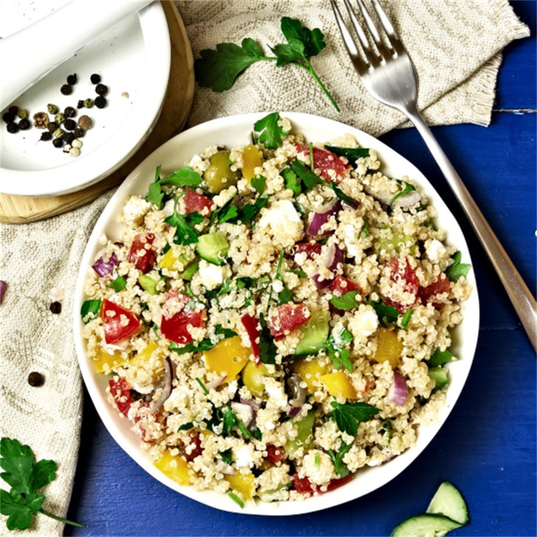 Quinoa Salad Recipe – Easy Lunch Ideas