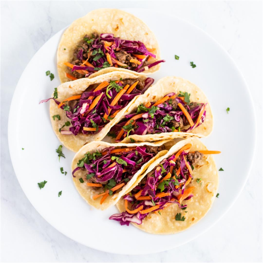Low FODMAP Korean Tacos