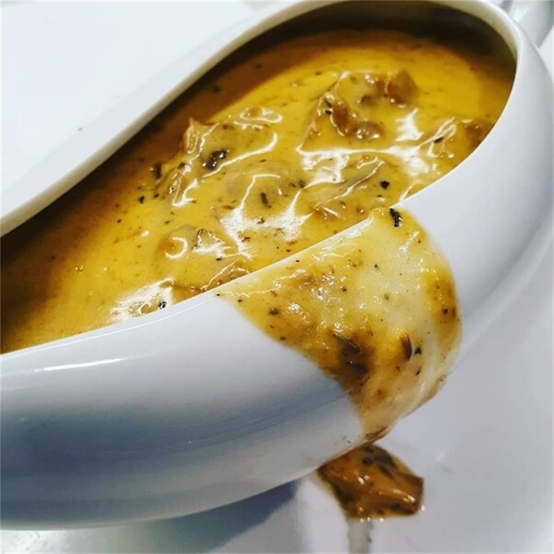 Keto Mushroom Sauce