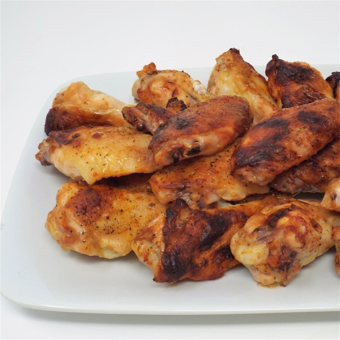 Citrus Chipotle Chicken Wings