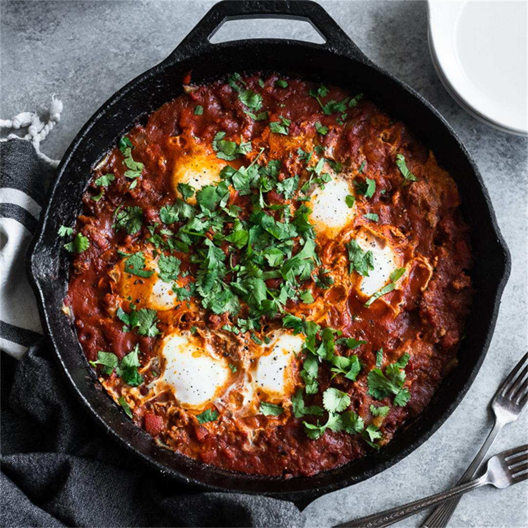 Whole30 Chorizo Shakshuka
