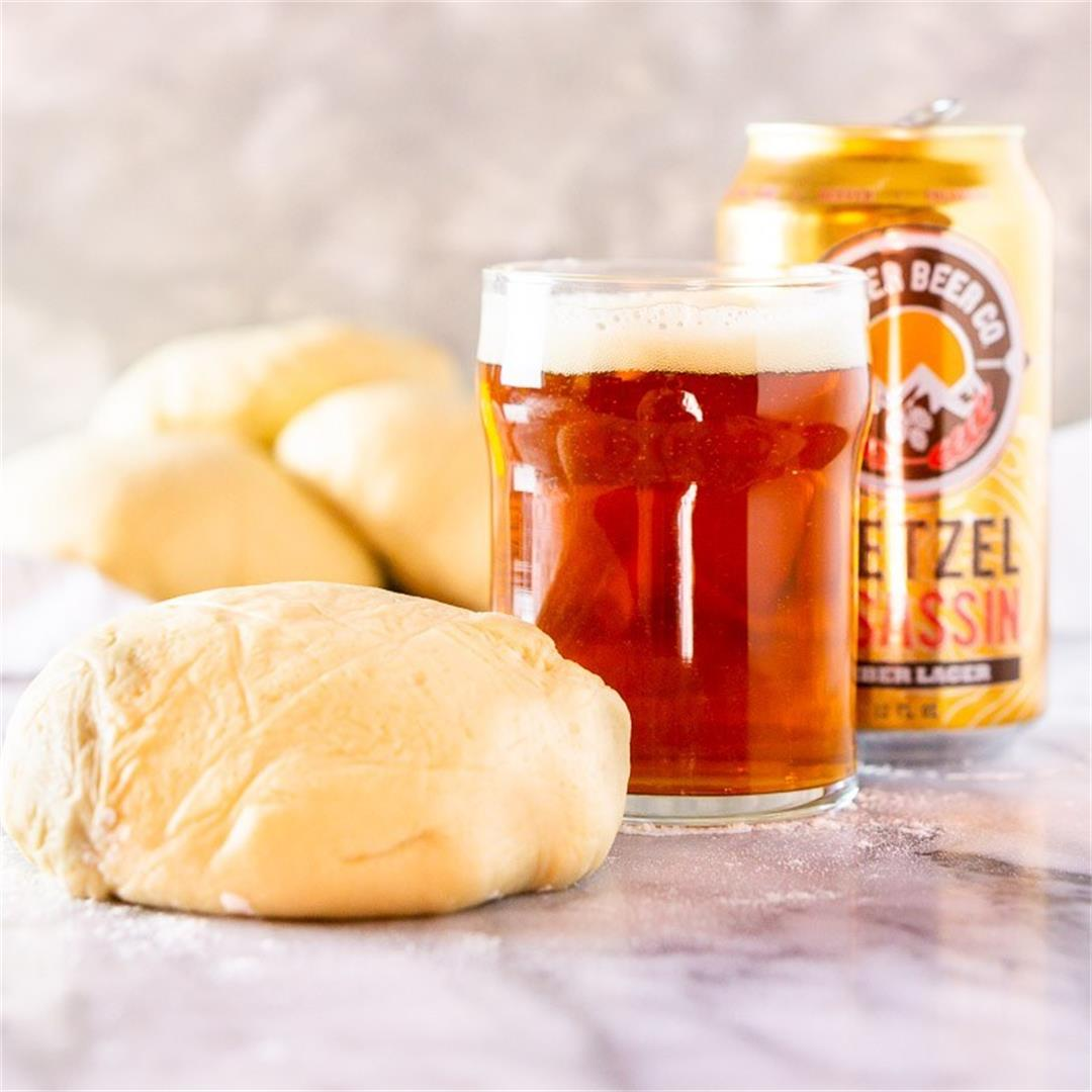 Make-Ahead Beer Pizza Dough
