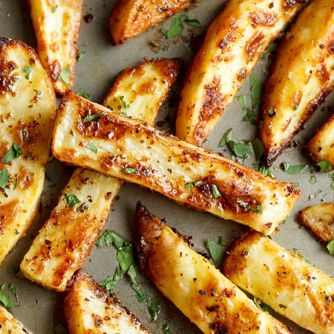 Perfect Homemade Wedges (the easy way!)