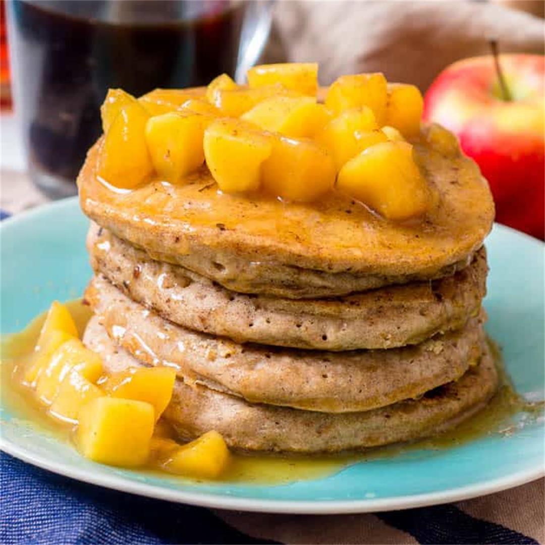 Buckwheat pancakes (GF and Dairy free)