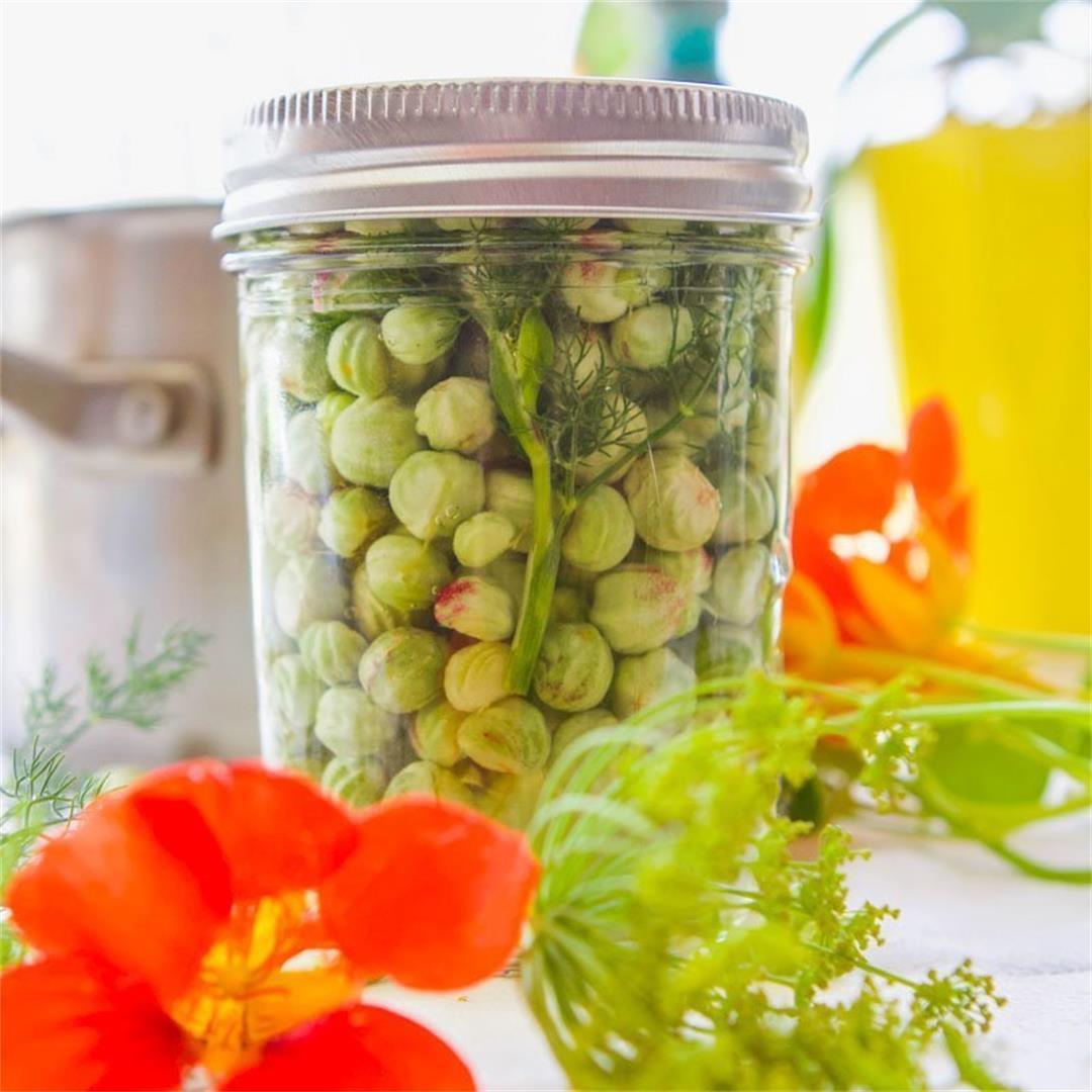 Pickled Nasturtium Seeds