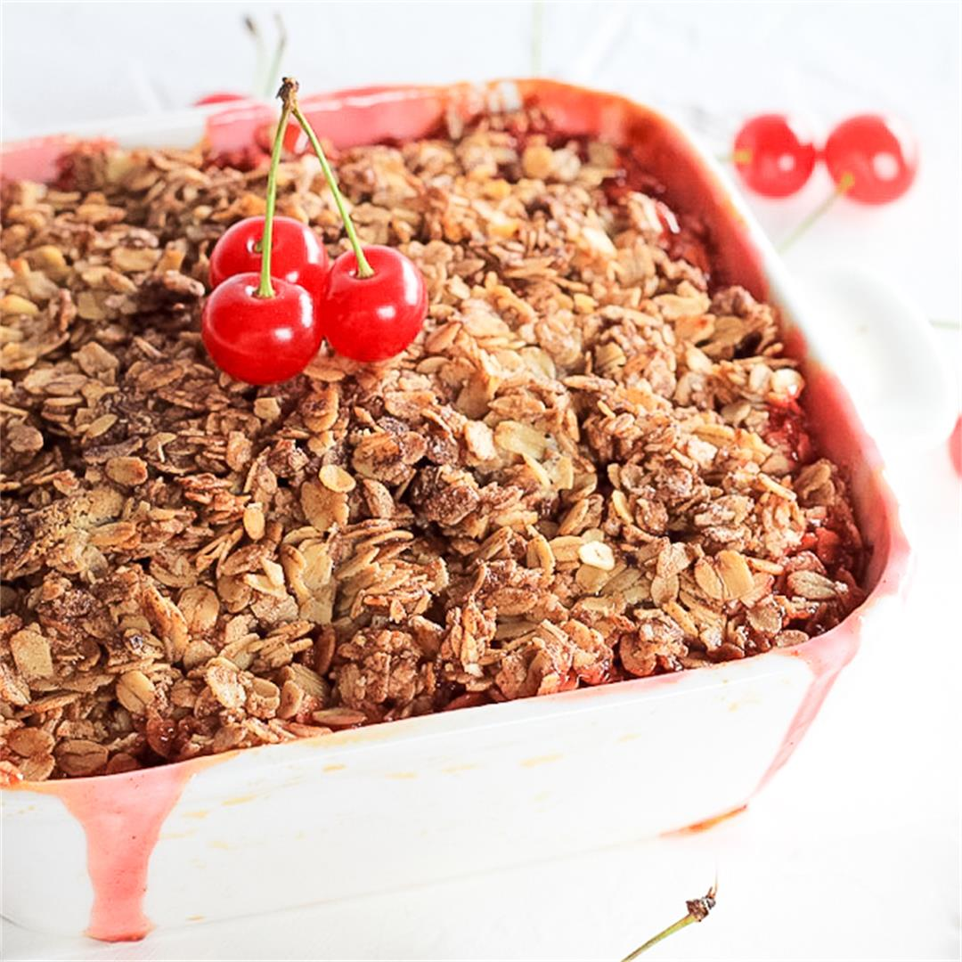 Montmorency Sour Cherry Crumble