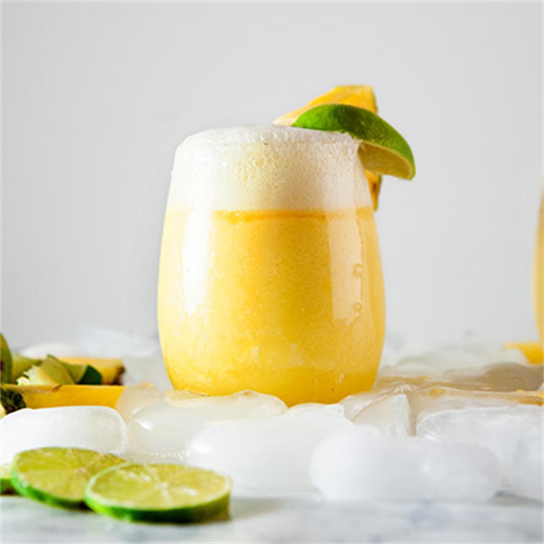 Frozen Pineapple Mimosas