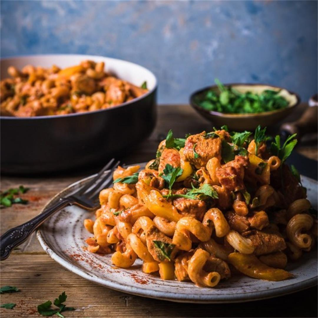 Cajun Chicken Pasta (Recipe Video + Step-By-Step Guide)