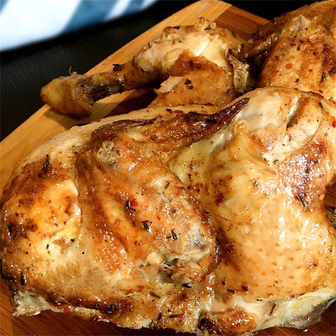 Oven-Baked Lemon Herb Chicken Easy Recipe
