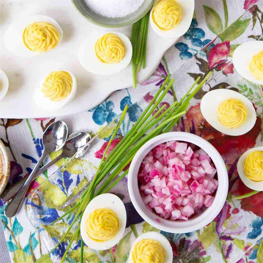 Top-Your-Own Deviled Egg Bar