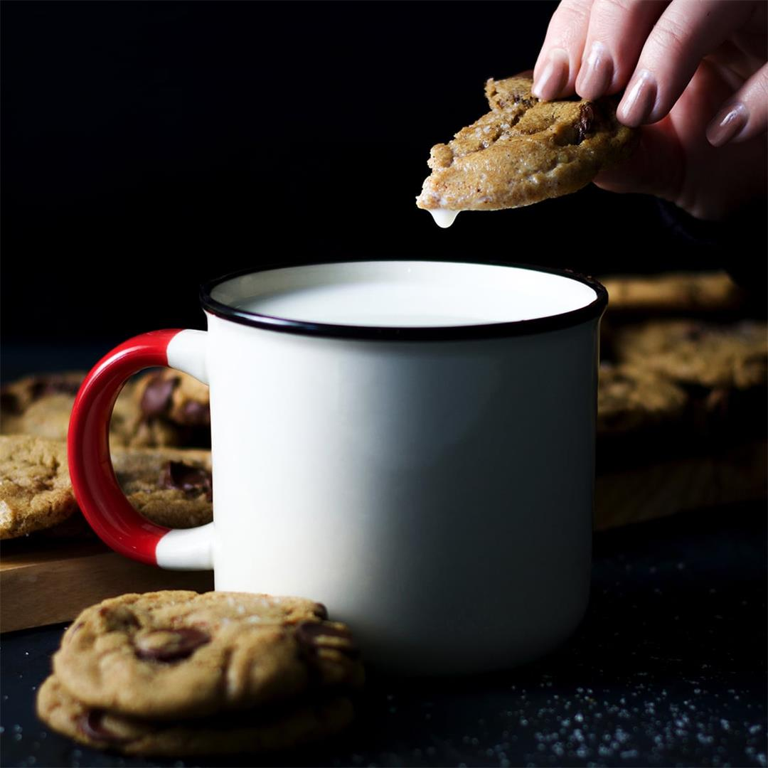 Perfectly Soft Chocolate Chip Cookies