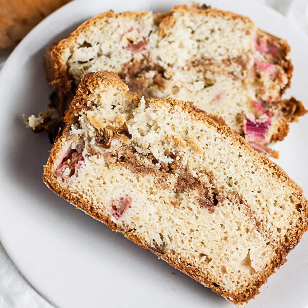 Old Fashioned Rhubarb Bread