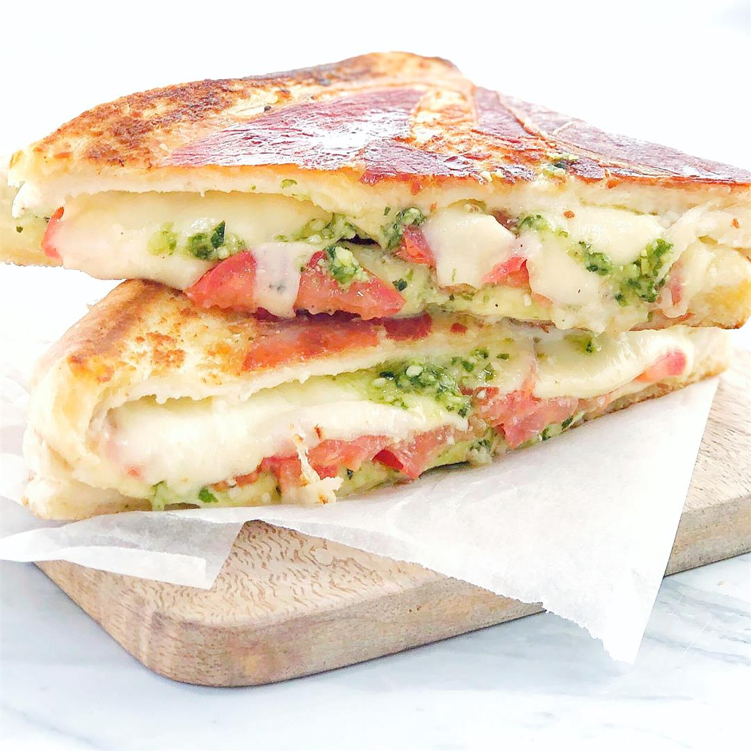 Pesto Grilled Cheese Sandwich · Chef Not Required...