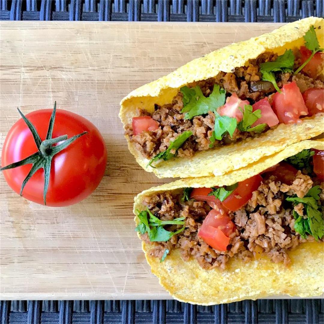 High Protein TVP Tacos (Vegan)