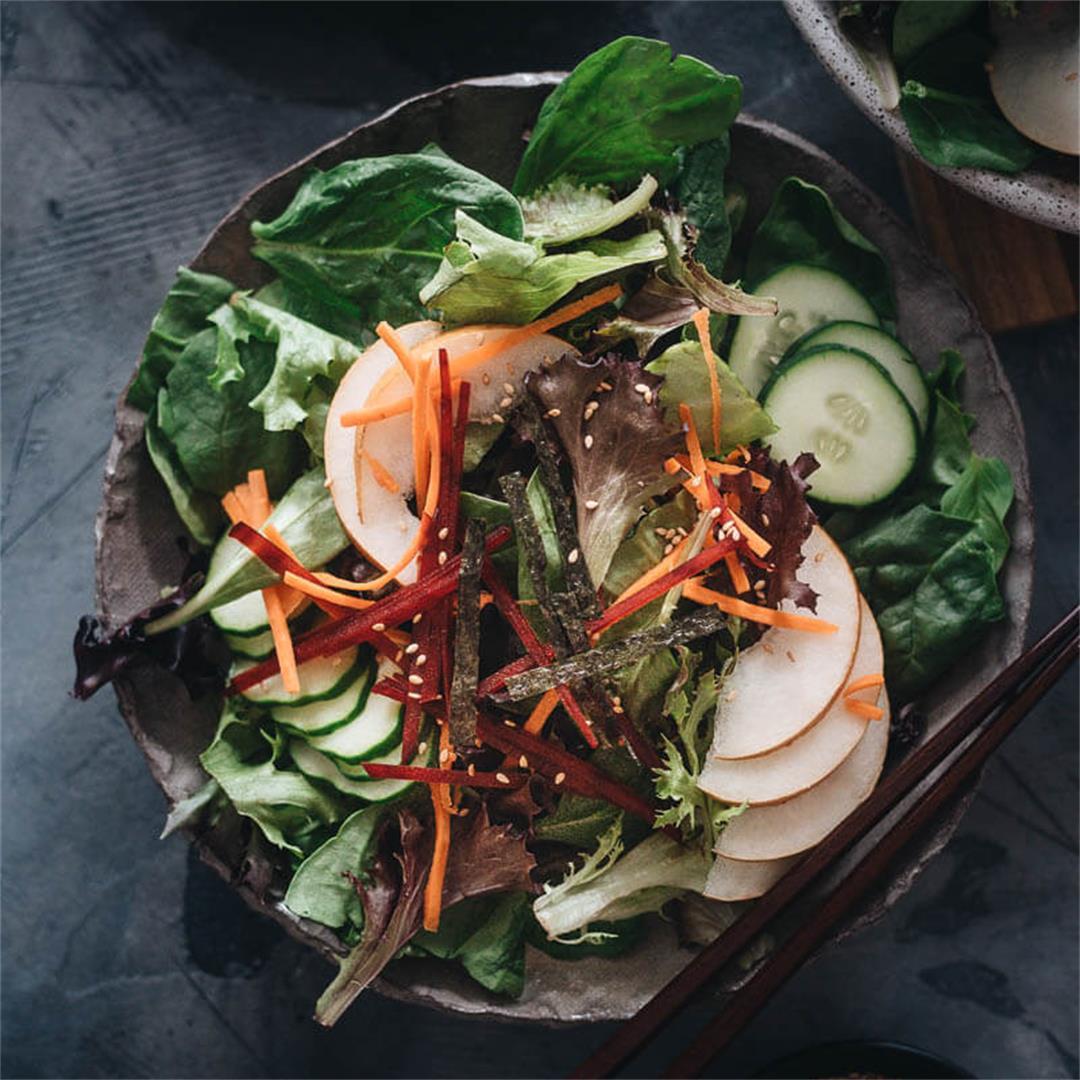 Asian Pear Salad