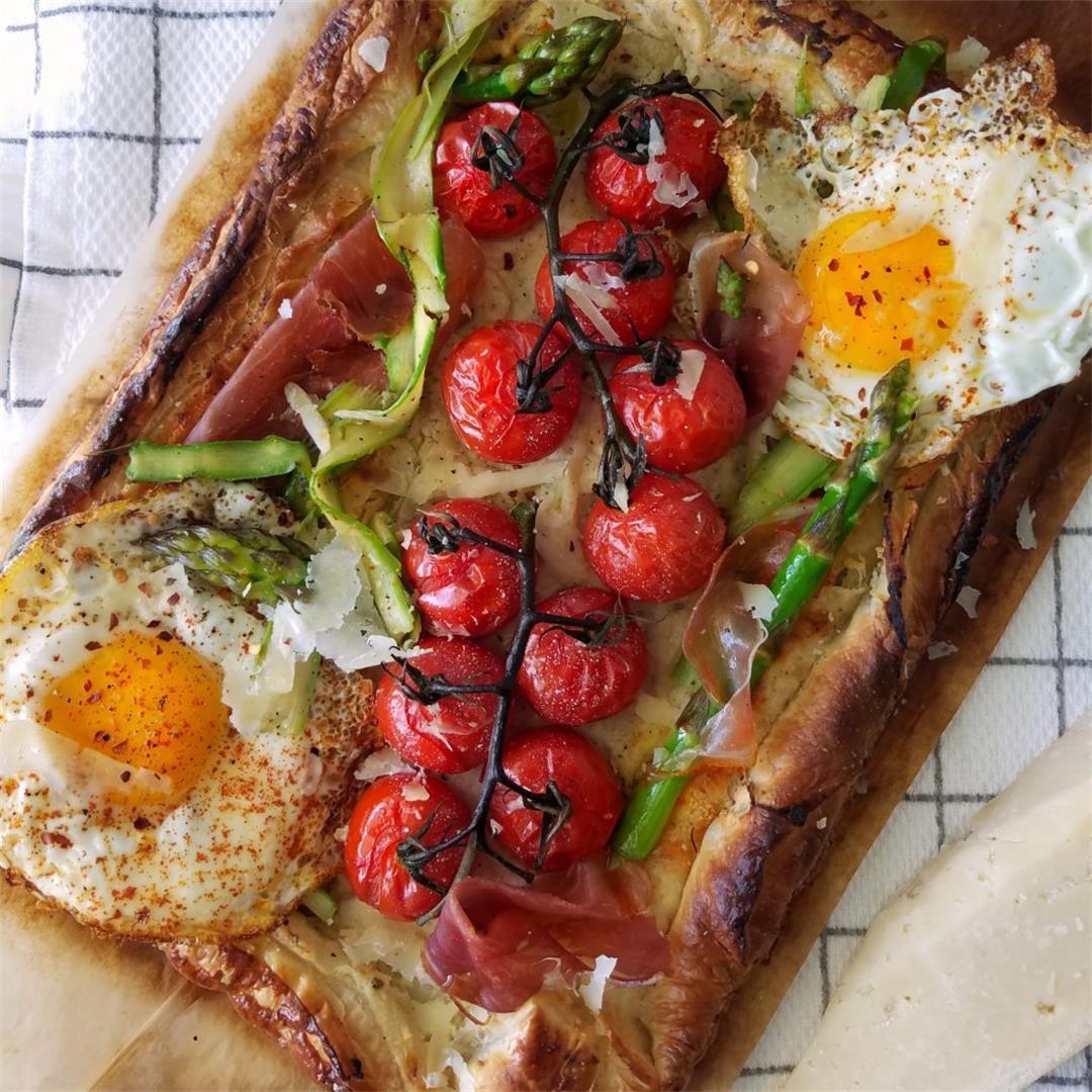 Tomato Tart Galette Recipe