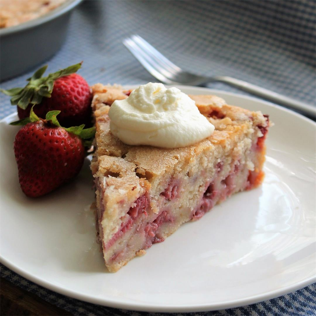 French Strawberry Cake – My Recipe Reviews