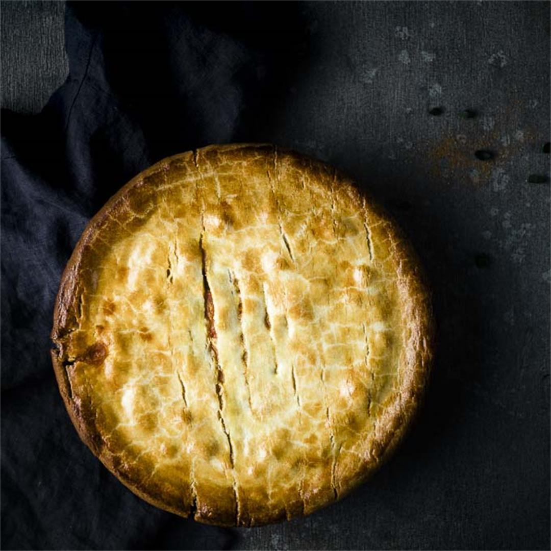 Easy Homemade Crawfish Pie