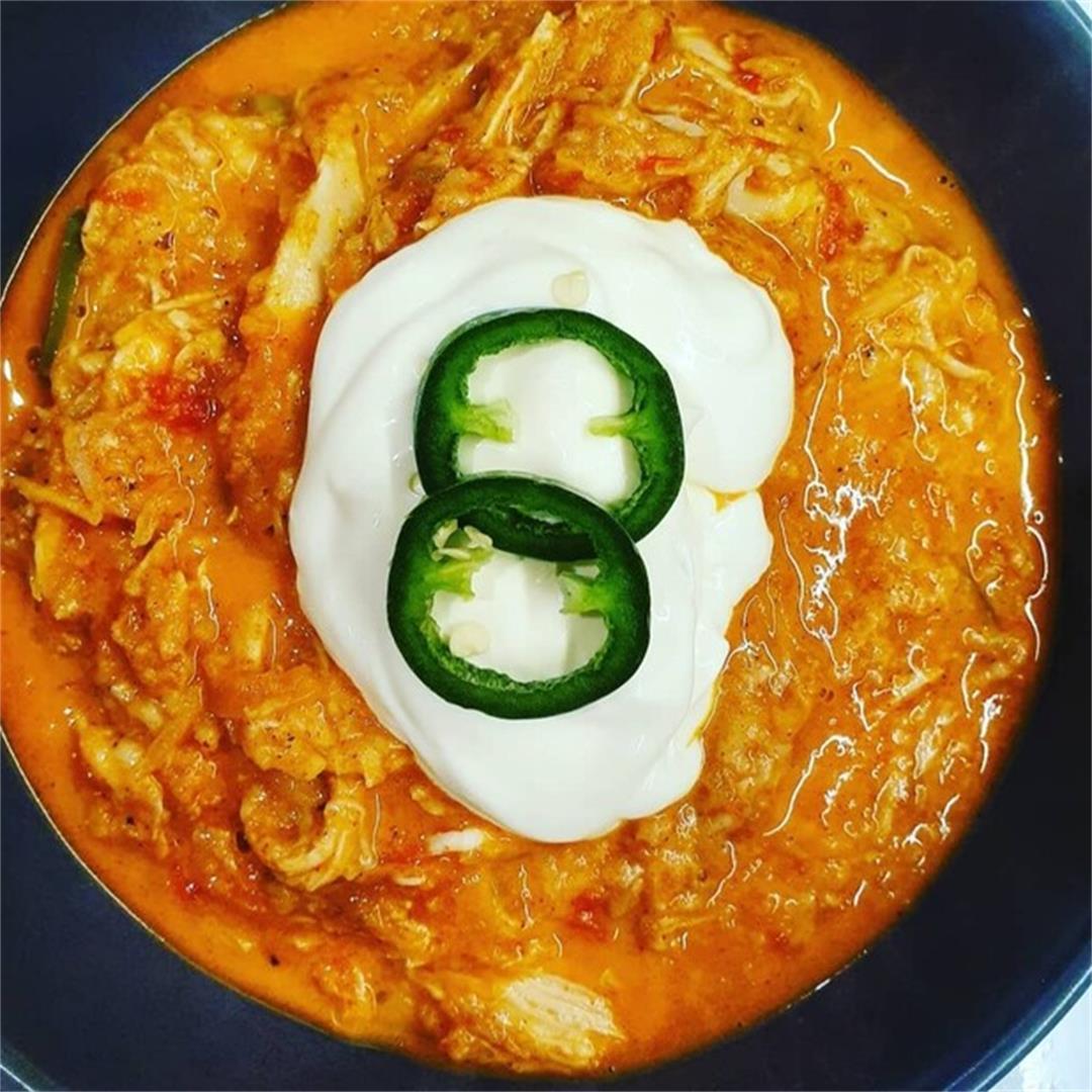 Keto Cheesy Chilli Chicken
