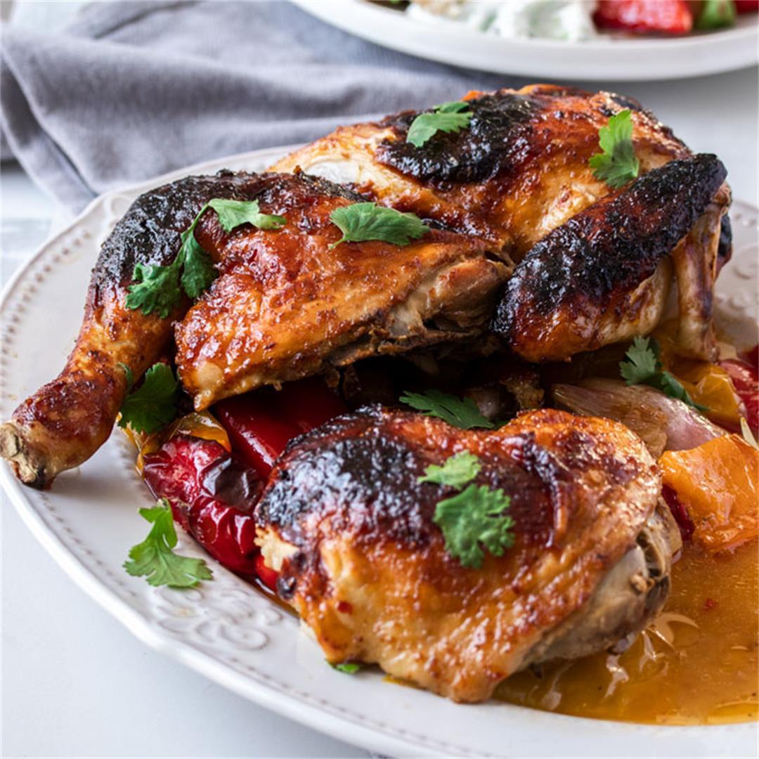 Sticky Harissa Chicken